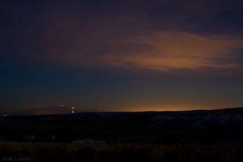 sky newmexico night clouds lights glow desert albuquerque wilderness ojito sandiamountains sandias reflectedlight ojitowilderness
