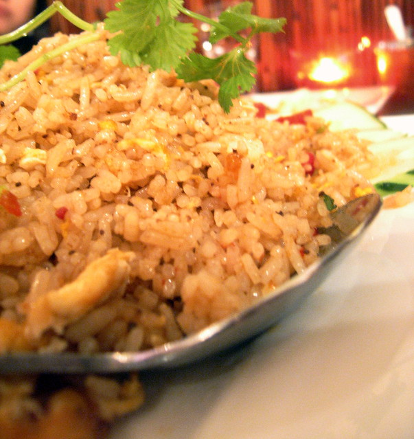 Salted fish fried rice flickr photo sharing for Fish fried rice