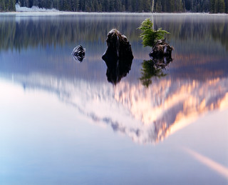 The three wise men of Trillium Lake