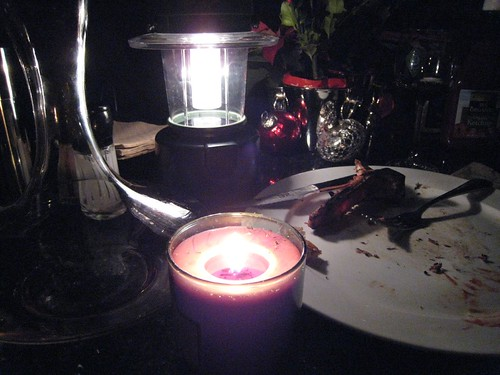 blackout, power outage, candle light dinner IMG_0681
