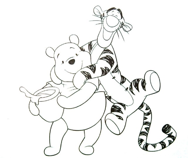 2126459358 964096f042 Z Jpg Zz 1 Winnie The Pooh And Tigger Coloring Pages