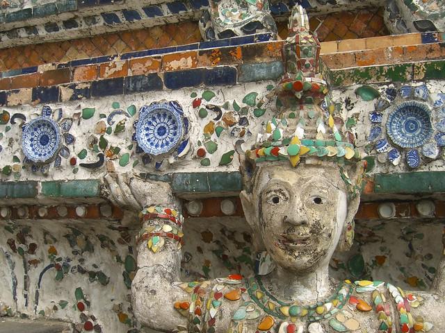 Statue at Wat Arun - Bangkok, Thailand