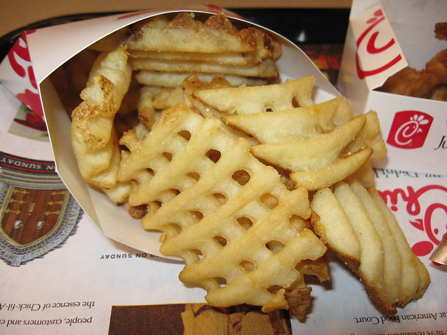 Chick-fil-A: Waffle potato fries
