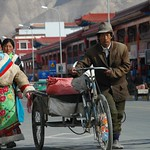 Streets of Xiahe, China