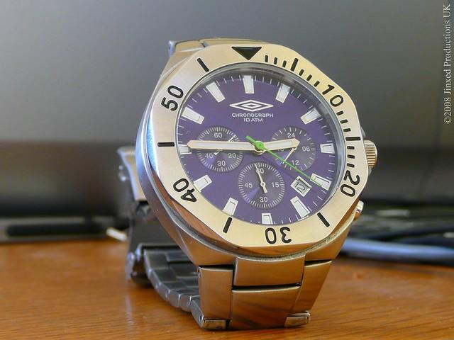 9ae3b650806 UMBRO U356 GENTS CHRONOGRAPH BRACELET WATCH « Bracelets: Jewelry