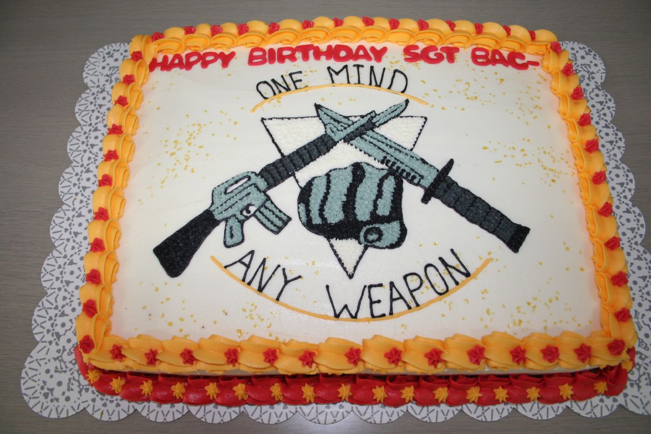 Usmc Martial Arts Cake A Photo On Flickriver
