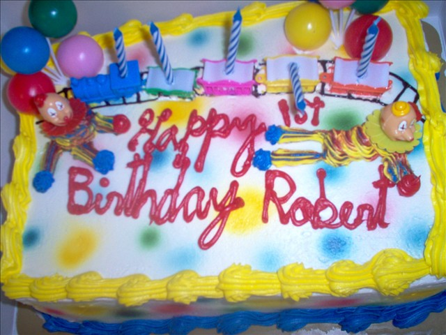 Birthday Cake Robert