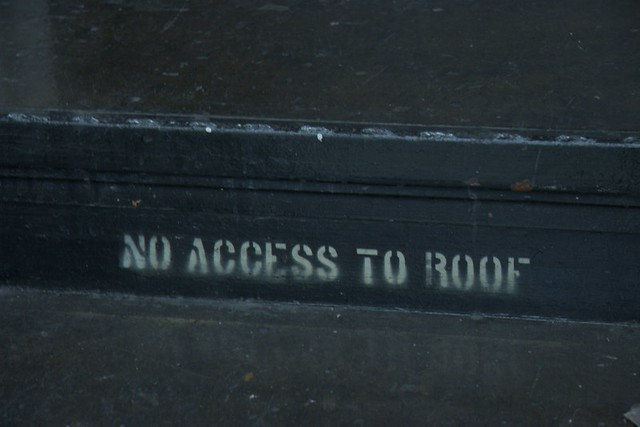 No Roof Access : No access to roof flickr photo sharing