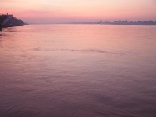 Purple waters
