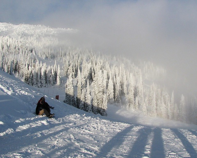 Skiing Big White
