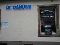 Le Danube, Slavic restaurant, Strasbourg