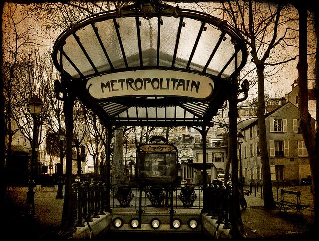 Montmartre. Paris.-