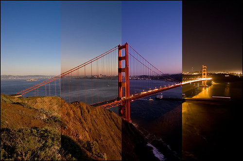 Golden Gate time lapse