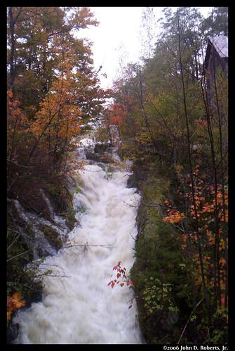 county autumn freedom waterfall maine waldo spillway sandypond sandystream waldocounty