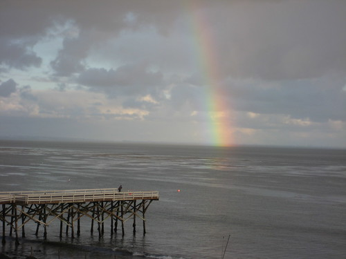 paradise cove rainbow