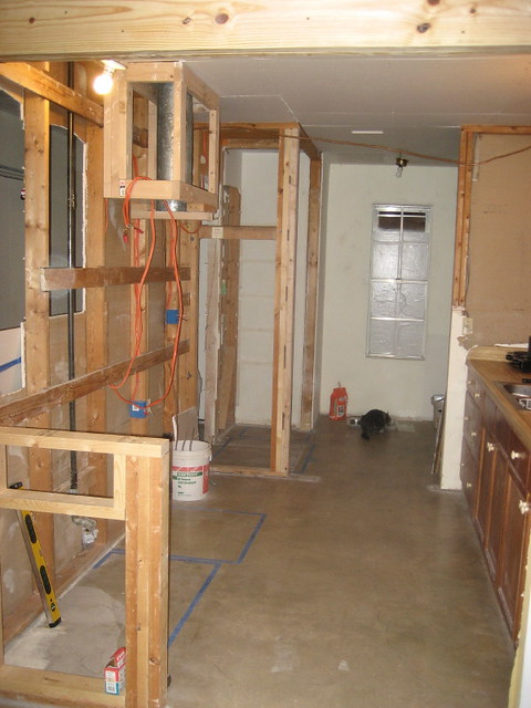 Kitchen Gutting Reconstruction 1 Flickr Photo Sharing