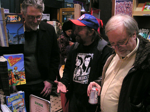 Jim Woodring, Larry Reid, and Mike Dean