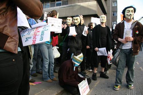 Anonymous ataca a la división policial de delitos informáticos