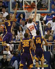 LSU vs Gators 2008/02/13