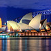Sydney Opera House at night Close up HDR Sydney Australia