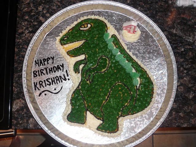 Godzilla Cake Godzilla Eating Peeps