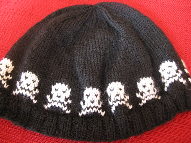 Minion Knitting Patterns : Knitting Pattern Skull Cap - Pattern Collections
