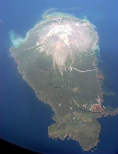 geotagged island volcano kagoshima iwojima iwo 鹿児島 火山 硫黄島 火山島 geo:lat=30791691 geo:lon=130295277