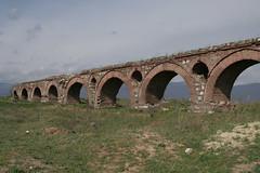 Aquaduct in Skopje, Macedonia