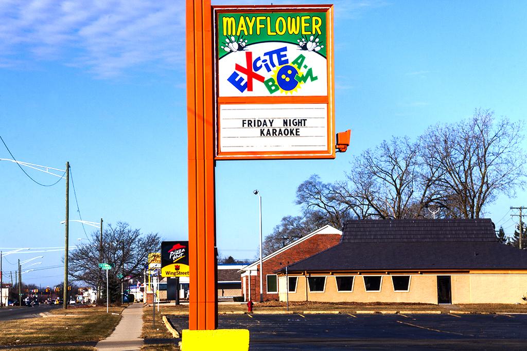 MAYFLOWER EXCITABOWL--Redford