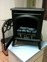 wood-burning stove, stove, iron,