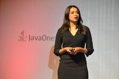 Second Keynote by Nandini Ramani - VP Java Client Development, Oracle