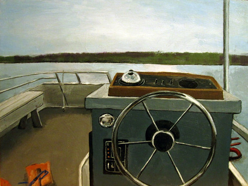 Hagerman Lake from Pontoon Boat (collaboration)