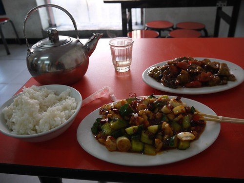 Lunch near the Forbidden City
