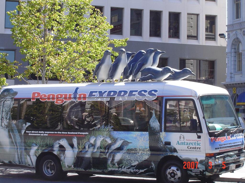 Penguin Express shuttle