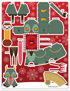Squealer Krampus Card