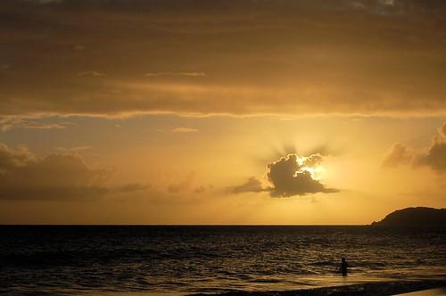sunset crosseyed stthomas frenchmansreef
