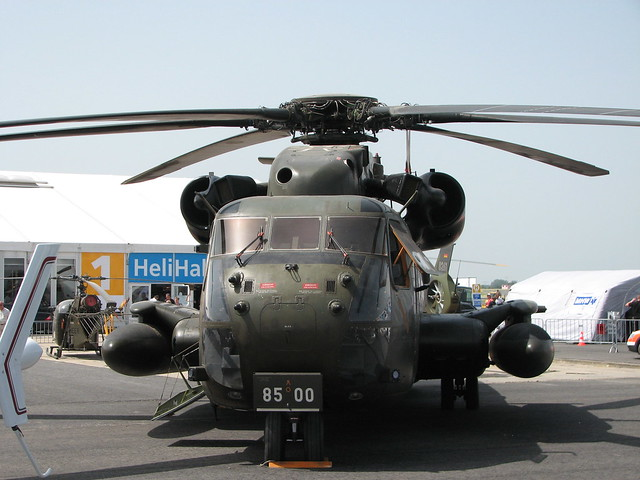 Mittlerer Transporthubschrauber CH-53GS