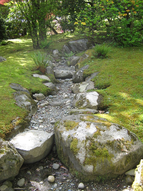 Japanese Garden (Dry Streambed)