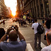 Manhattanhenge Crowd 2011 | New York Sunset