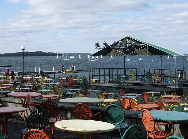 Memorial union terrace uw madison 2 flickr photo for Madison terrace