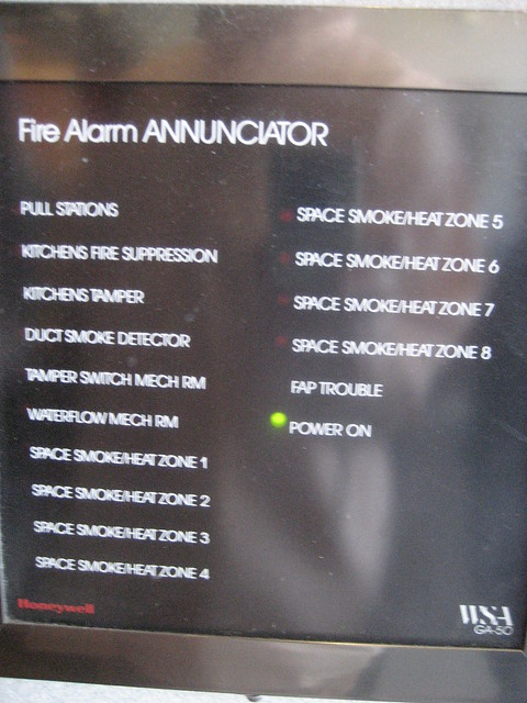 Header of annunciator