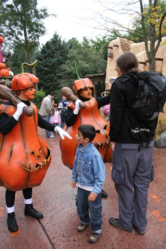 Pumpkin Men and Bert