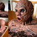 Halloween monster cake - life-size!