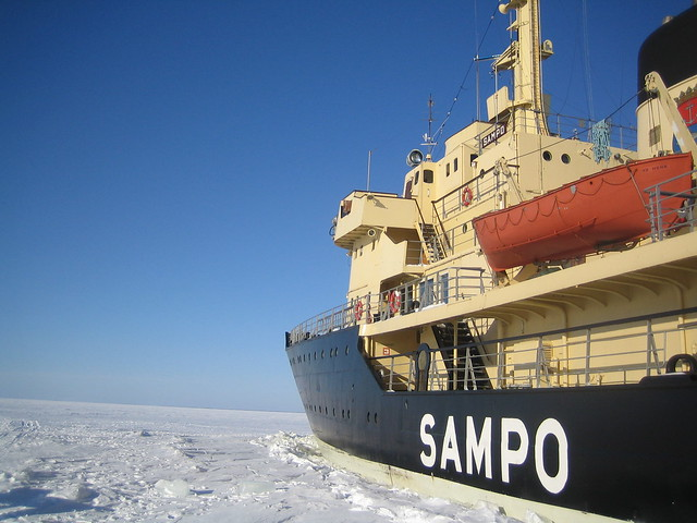 El Sampo, el rompehielos finlandés por excelencia
