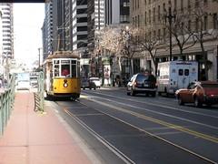 metropolitan area, vehicle, cable car, tram, transport, mode of transport, public transport, lane, land vehicle,