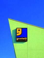 Goodwill logo on building