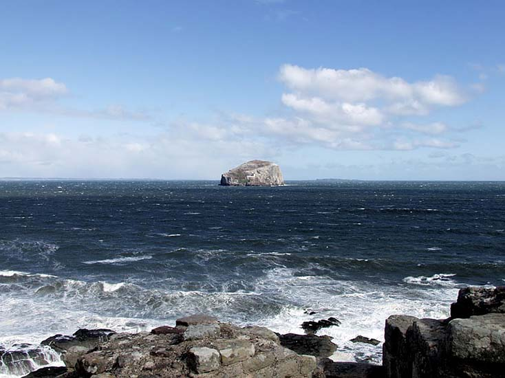 Photography - Bass Rock by Nicholas M Vivian