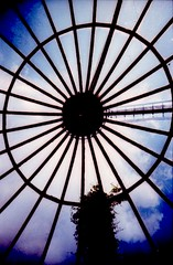 Greenhouse against sky