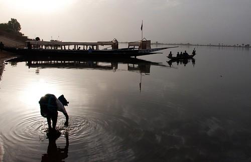 sunset niger river tramonto fiume megashot raphaelangel