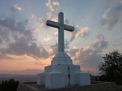 Sunrise with cross